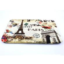 цена на Fashion Living Room Doormat Paris Tower Doormat Custom Door mat Home decor Carpet Fashion Rug