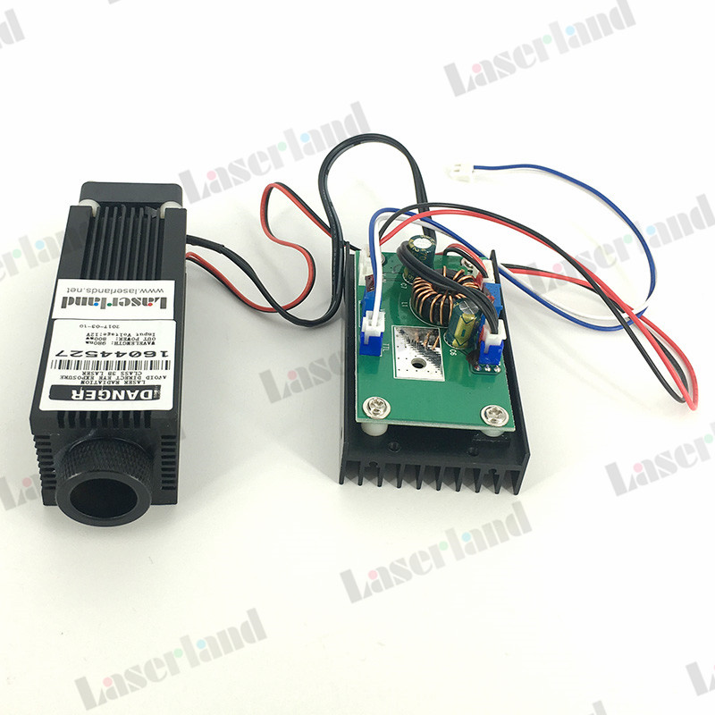 Focusable 800mW 0.8W 940nm IR Infrared Laser Diode Module w/TTL focusable 850nm 100mw ir infrared laser line module diode 22x77mm for wood cutting mechanical positioning