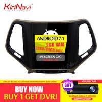 KiriNavi Vertical Screen Tesla Style 10.4 Inch Android 7.1 Car DVD For JEEP Cherokee Radio GPS Navigation Bluetooth 2015 2016