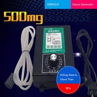 Uso doméstico Gerador de Ozônio Esterilizador de Frutas E Vegetais Máquina De Oxigênio Da Água Purificadores de Ar 220V 500Mg