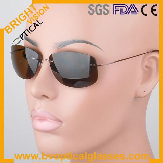 PC001 New arrival Most hot high quality light flexible beta titanium frame polarized lens sunglasses sunshades
