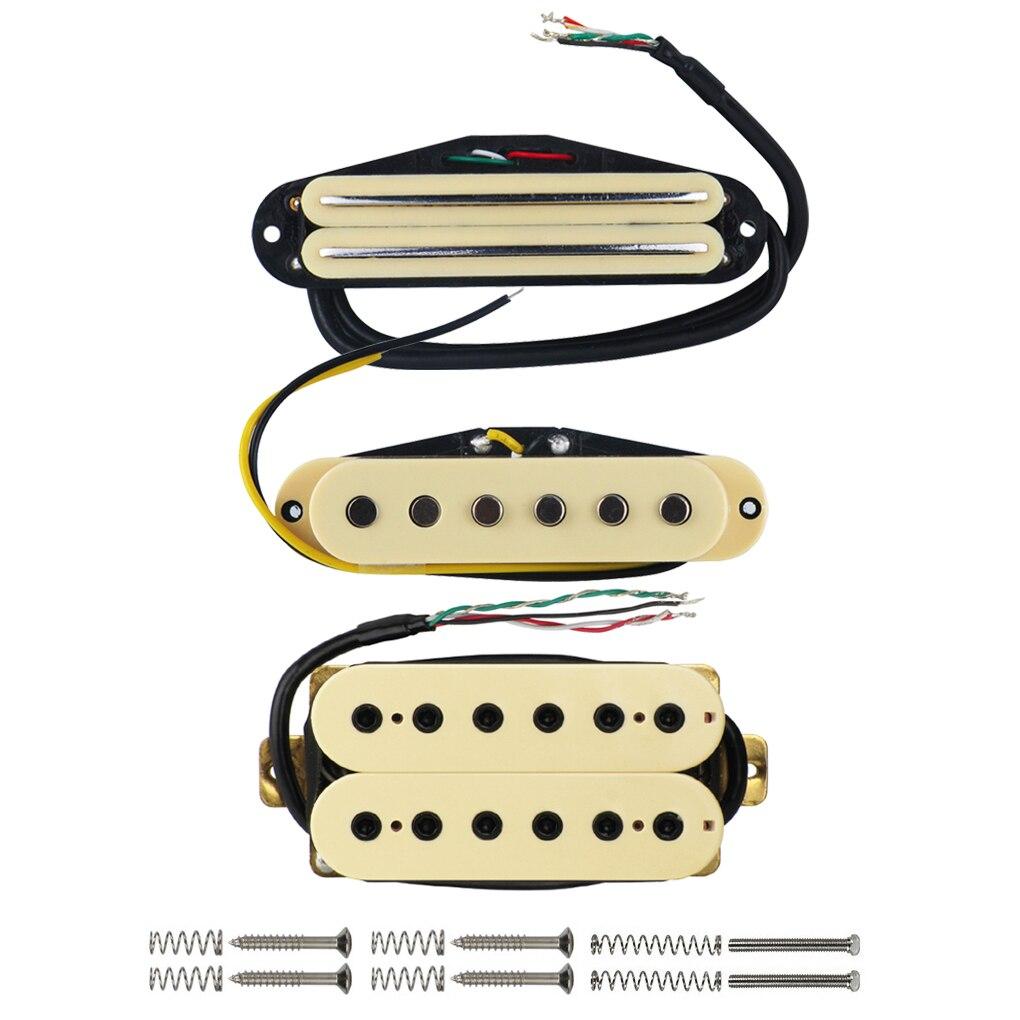 Ziemlich 1 Humbucker 2 Single Coil Verkabelung Fotos - Elektrische ...