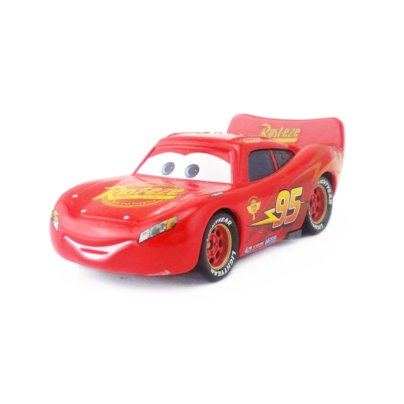95 Flash McQueen 1:55 Métal Jouet Voiture Cadeau Disney Pixar Cars No
