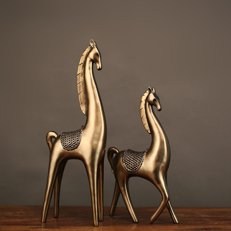 Mrzoot Nordic Fashion Golden Deer Giraffe Statue Home Decoration Accessories Sculpture Resin Art Crafts DecorationMrzoot Nordic Fashion Golden Deer Giraffe Statue Home Decoration Accessories Sculpture Resin Art Crafts Decoration