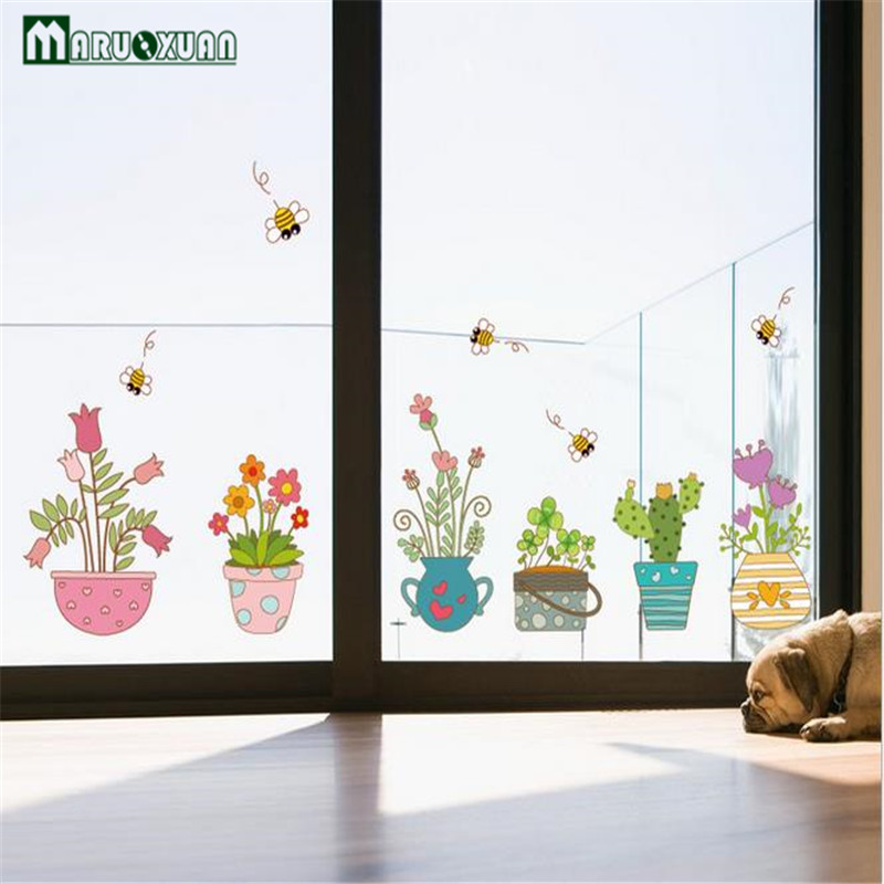 New Wall Stickers Manufacturers Wholesale Flower Pots ...