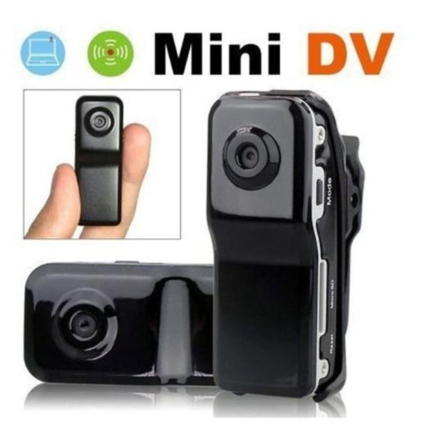 HD de Bolso Mini Câmera de Vídeo Audio Recorder Menor Filmadora Com Suporte Clipe Da Bicicleta Do Esporte Ao Ar Livre Sem Fio Micro PC Cam