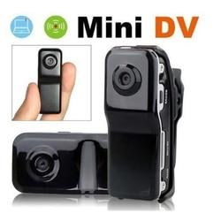 Mini câmera esportiva digital md80, mini câmera hd, portátil, filmadora de vídeo, mini dv, micro pc com suporte