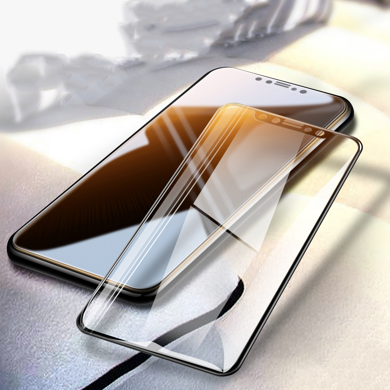 3D Curved Edge Full Cover Screen Protector For iPhone X XS