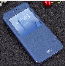 For Huawei Honor8 Window case, Flip Leather Skin Case Cover for For Huawei Honor 8 Smart case Brand MOFI + retail boX