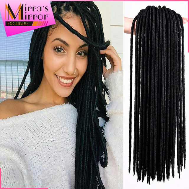 Faux Locs Crochet Hair Braids Hair Extension 24strands Dreadlocks