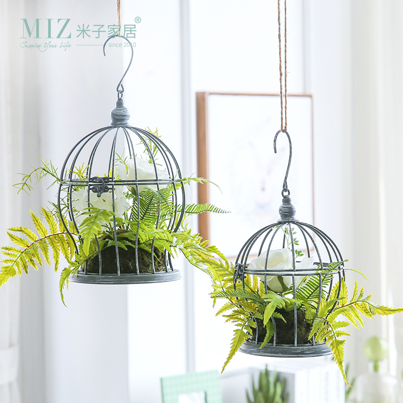 Miz 1 piece artificial plants for decoration home garden for Home decor with plants