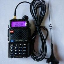 UT 108 144/430 MHz Antena SMA עבור CB רדיו חם נקבה ניידת עבור Baofeng UV 5R 888S שתי דרך רדיו רדיו VHF UHF 144/430 M