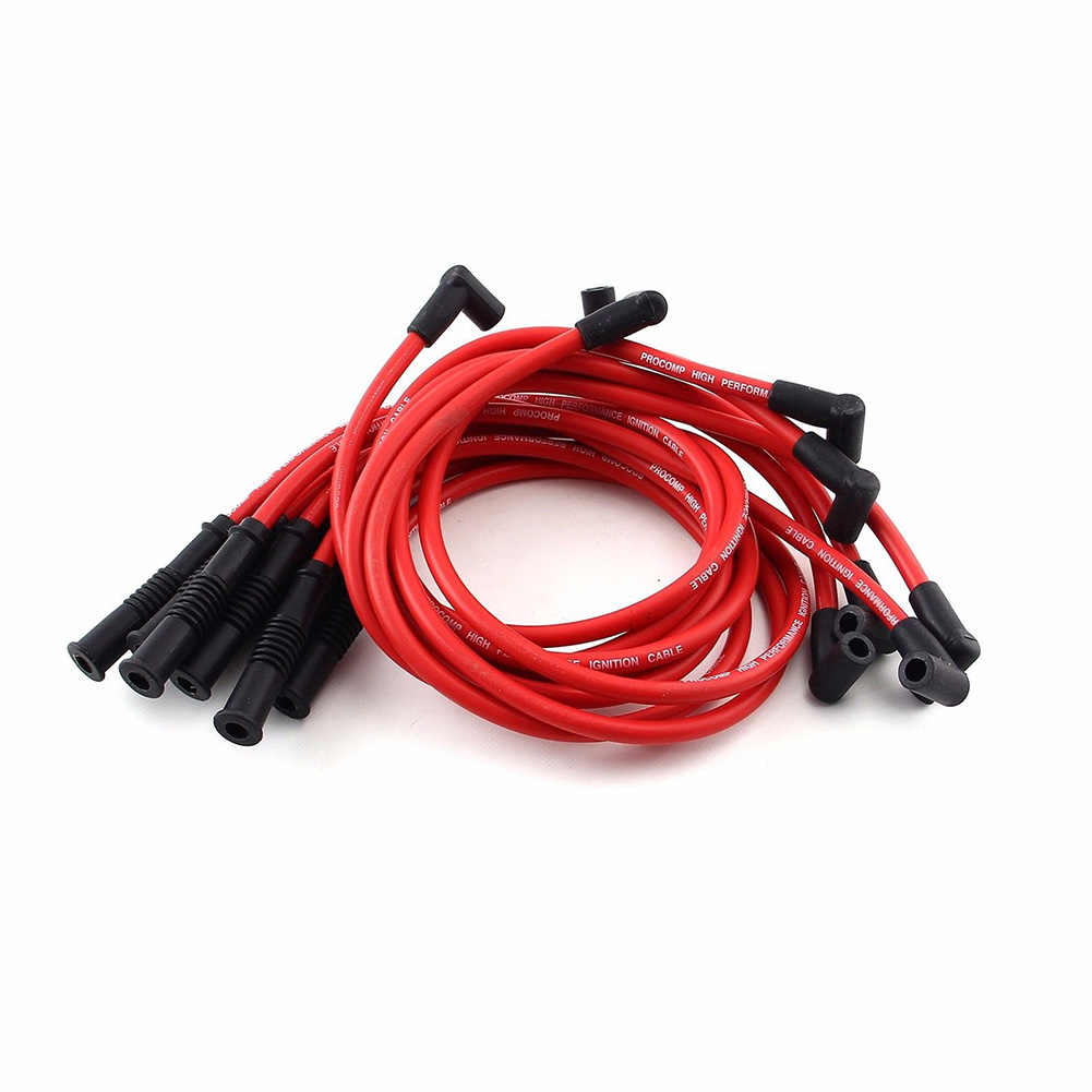 Hot 10.5 MM High Performance Spark Plug Wire Set for HEI SBC BBC 350 383 454 Electronic  JLD