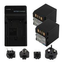 купить RP Battery (2-Pack) + Charger BN-VF714 BNVF714 BN VF714 for JVC GR-D239 GR-D240 GR-D244US GR-D245 GR-D246 GR-D247 GR-D250 GR-X5 дешево