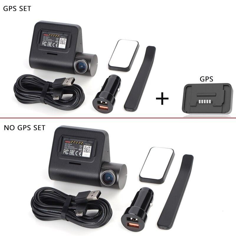 70mai Dash Cam Pro inteligente coche 1944 P grabación de vídeo HD con GPS ADAS WIFI función 140 campo de visión (FOV) Cámara inglés control de voz - 5
