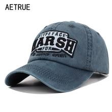 AETRUE gorra de béisbol de moda de las mujeres de los hombres Snapback  gorra marca hueso papá sombreros de camionero hombres equ. d6fd5715264
