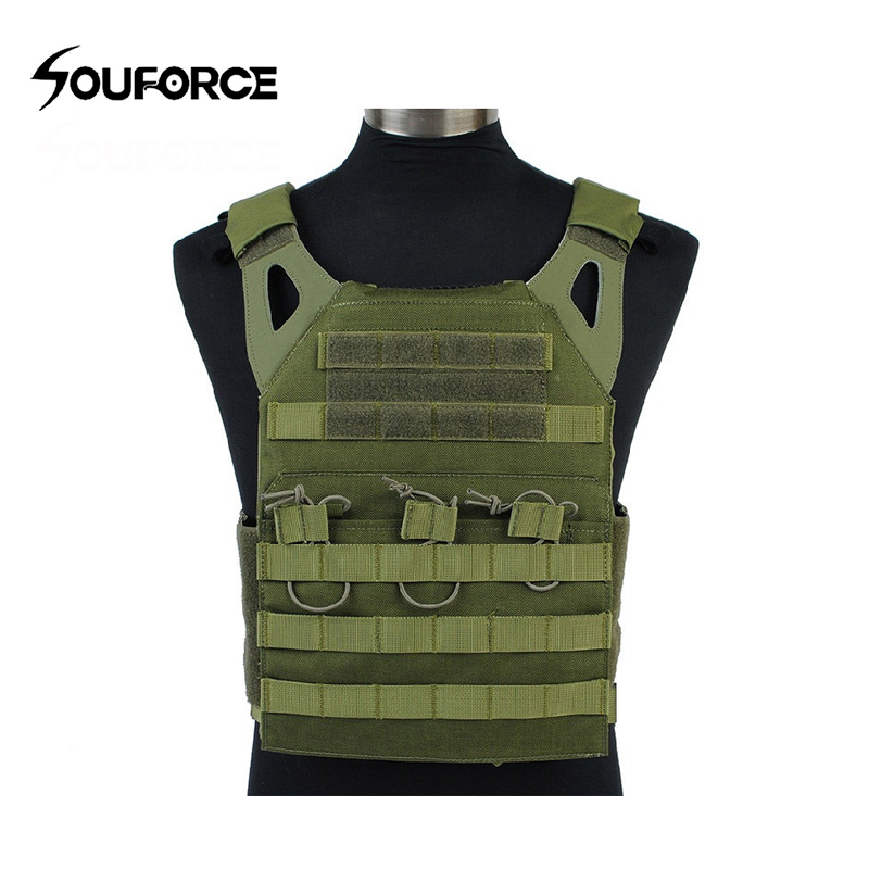 4 Color Military Tactical Vest Lightweight Tactical Vest Outdoor Multi-function Combat Vest CS Protective Equipment for Outdoor upgraded version of the cs special tactical vest vest american field equipment thickening tactical vest
