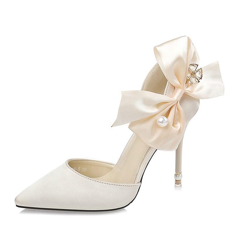 Femme sandales femmes chaussures talons hauts rouge pompes femmes talons sexy chaussures satin bowknot perle mariage dames chaussuresFemme sandales femmes chaussures talons hauts rouge pompes femmes talons sexy chaussures satin bowknot perle mariage dames chaussures