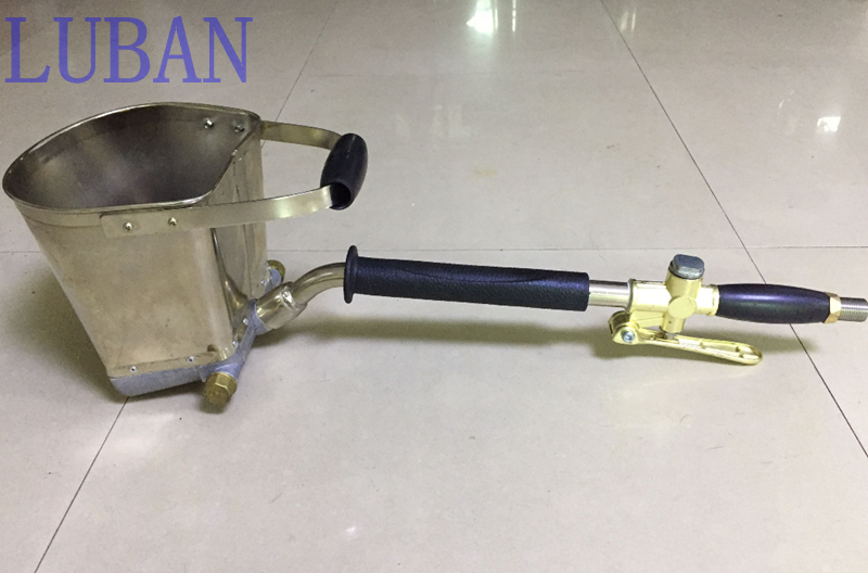 купить Fast Delivery Mortar Sprayer Wall Mortar Gun,Stucco shovel Cement Spray Gun,Air Stucco sprayer, Plaster Hopper Gun LUBAN недорого