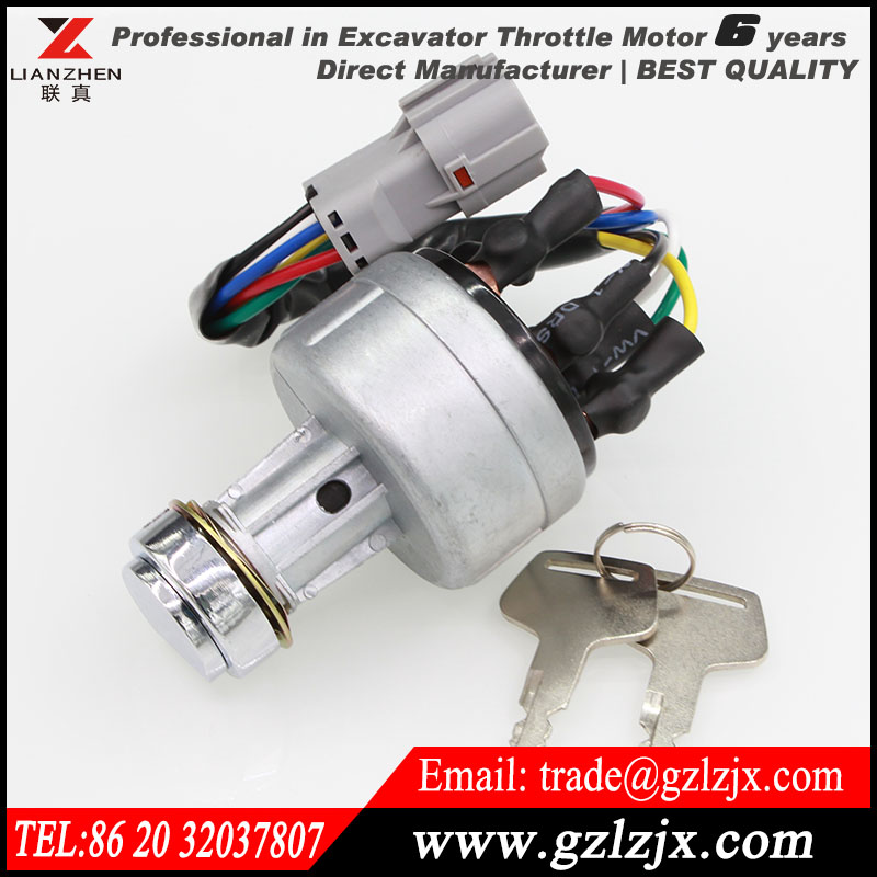 ФОТО Starting switch fire up switch for Hyundai excavator engine spare parts