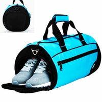 New Style Swimming Bag Nylon Waterproof Bag Dry Bag Men Independent Shose Pasition Women Gym Shoulder Bag Big Training Handbag