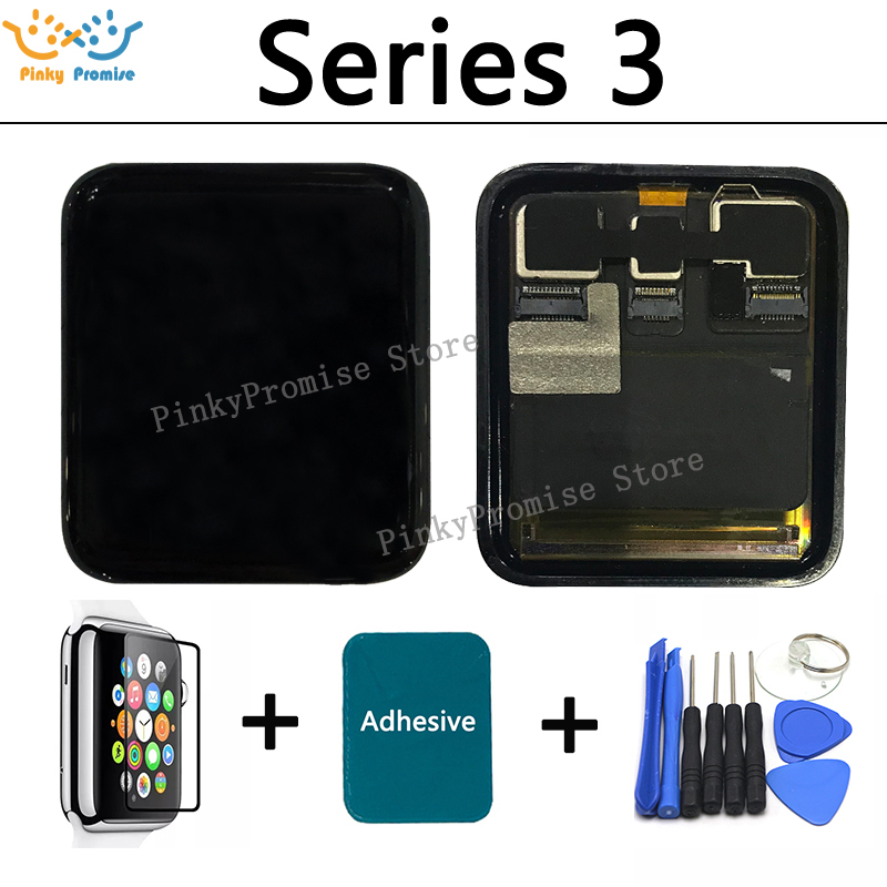 For Apple Watch Series 3 LCD Display Touch Screen Digitizer 38mm 42mm Pantalla Replacement For Apple
