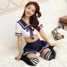 Корейская японская версия, женские сексуальные маскарадные костюмы моряка, костюм для студентов, девочек, школьная Полосатая юбка, школьная форма