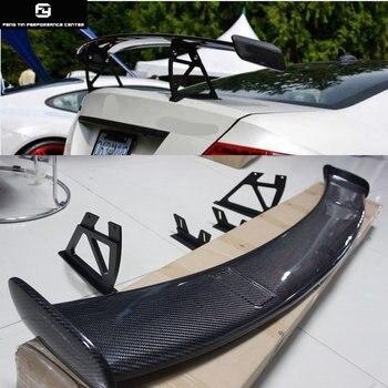 W204 คาร์บอนไฟเบอร์ด้านหลังสปอยเลอร์ปีกสำหรับ Mercedes Benz W204 C200 C300 08-14