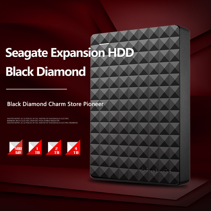 Seagate 1TB 2TB 4TB Expansion USB 3.0 HDD 2.5
