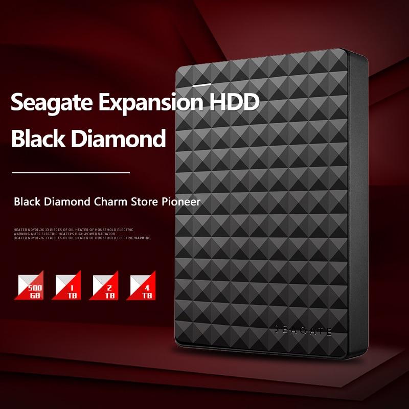 Seagate 1TB 2TB 4TB Expansion USB 3.0 HDD 2.5