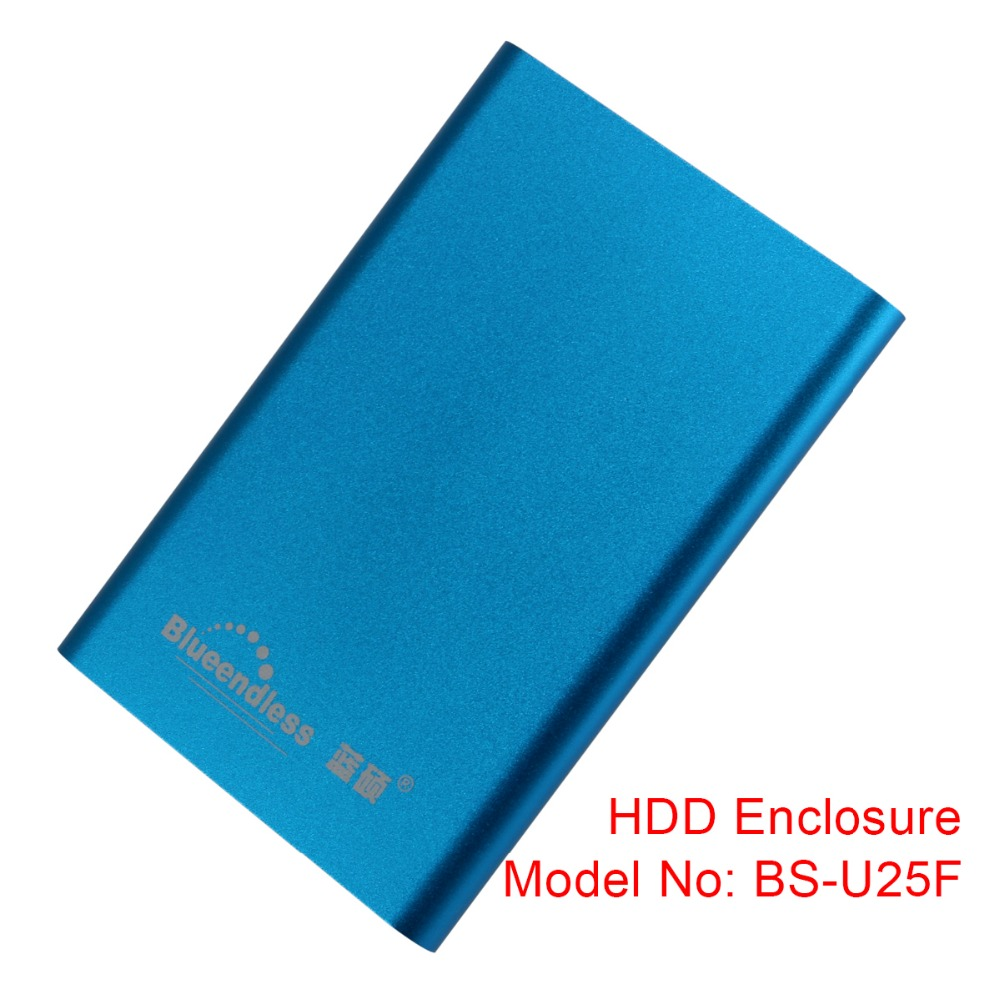 New Arrival Sata Usb 3.0 Hdd Box High Speed Sata To Usb Hdd Caddy Up To 5TB Hdd Enclosure U25F