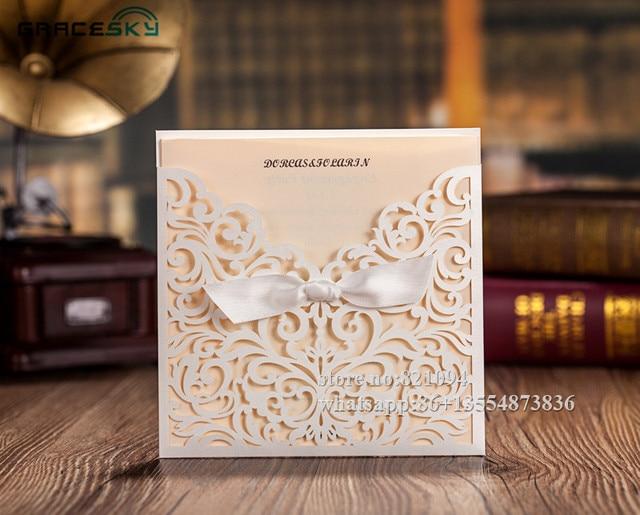50pcslot free shipping laser cut Flowers design European pocket