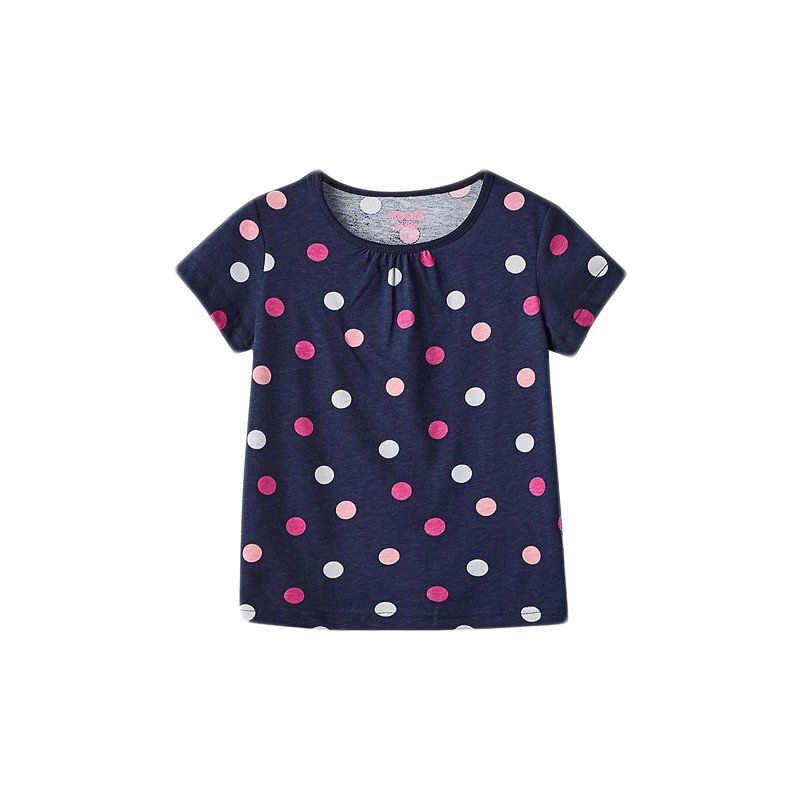 T-Shirts MODIS M182K00378 for girls kids clothes children clothes TmallFS 2016 summer teen girls boutique frock designs latest fashion dress for kids age 5 6 7 8 9 10 11 12 13 14t years old kids clothes