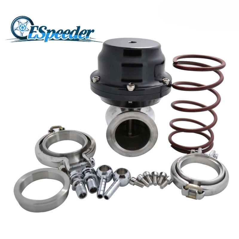 ESPEEDER 44mm External Wastegate MVS V Band Flange Turbo Waste Gate For Supercharge Turbo Manifold