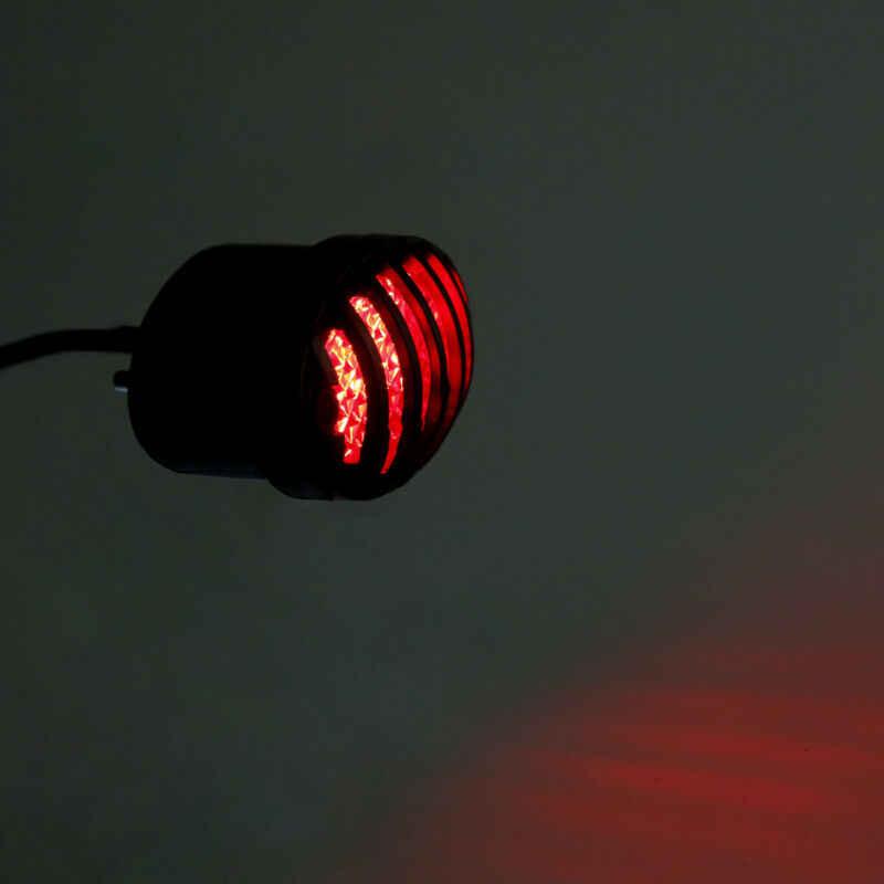 Мотоцикл номерной знак свет задний стоп-сигнал для Harley Chopper Bobber streetfighter