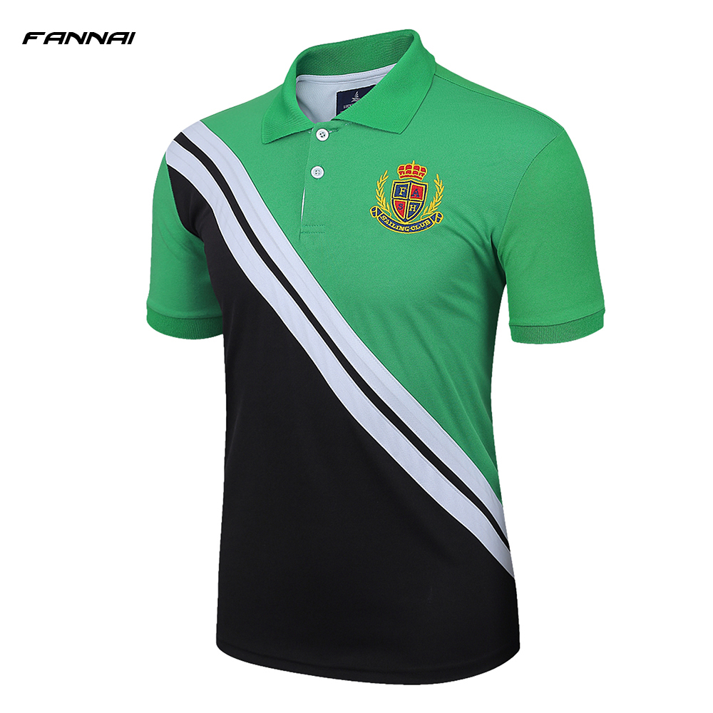 Professional Mens Golf Polo Running Training Polo T-shirts Breathable Cotton Short Sleeve Shirts Sports Tee Tops 2018 New