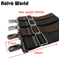 38mm Black Brown Nylon Belt Accessory Replacement Men Bags Long Shoulder Strap Man Laptop Bag Straps