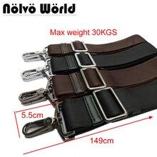 Мощный крюк 38 мм широкий нейлон ремень, заменить мужские сумки длинный наплечный ремень, Мужская сумка для ноутбука ремни, ремонт мешок плечевой ремень