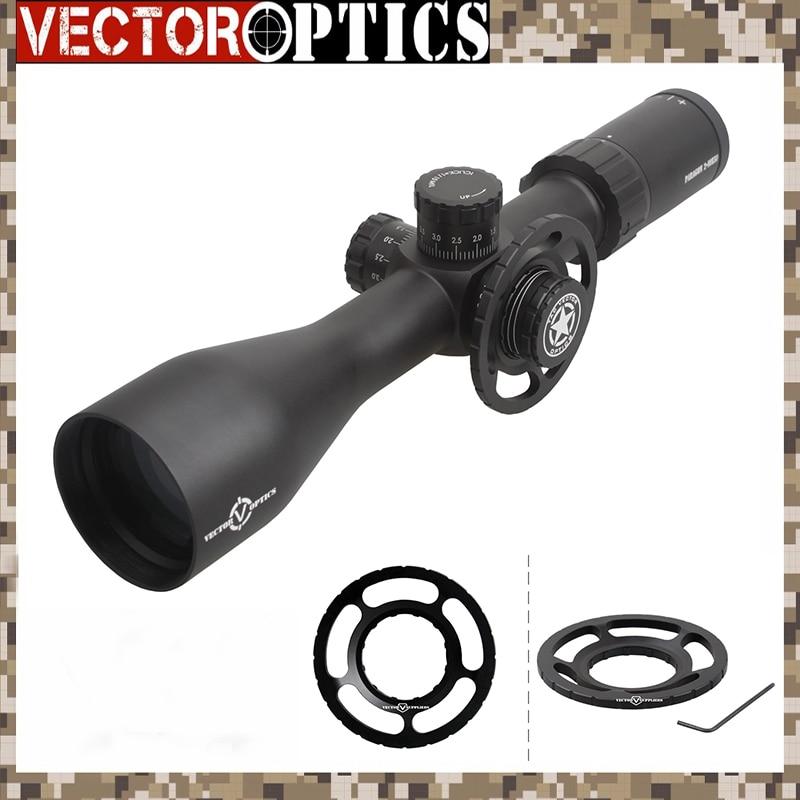 Vector Optics Paragon 2-10x50 Rifle Scope Germany Glass w/  Free Big Side Wheel KillFlash 1/10 MIL fit .308 5.56 12ga