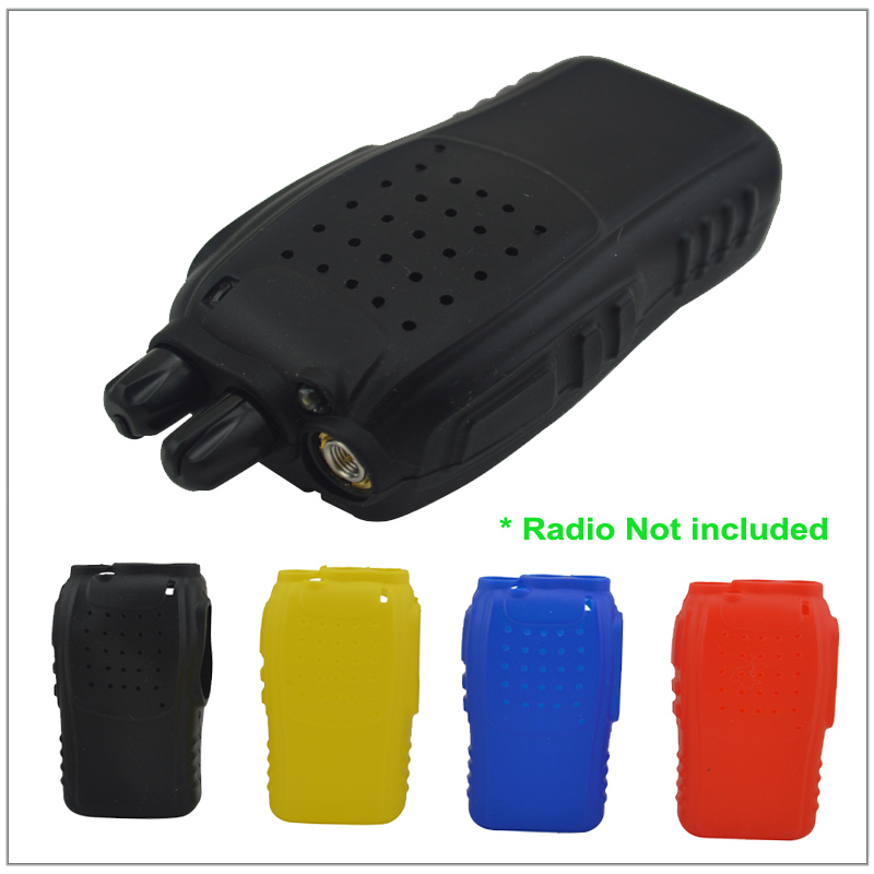 Rubber Silicon Case Holster For Baofeng BF-888S,BF-777S,BF-666S Portable Two-way Radio
