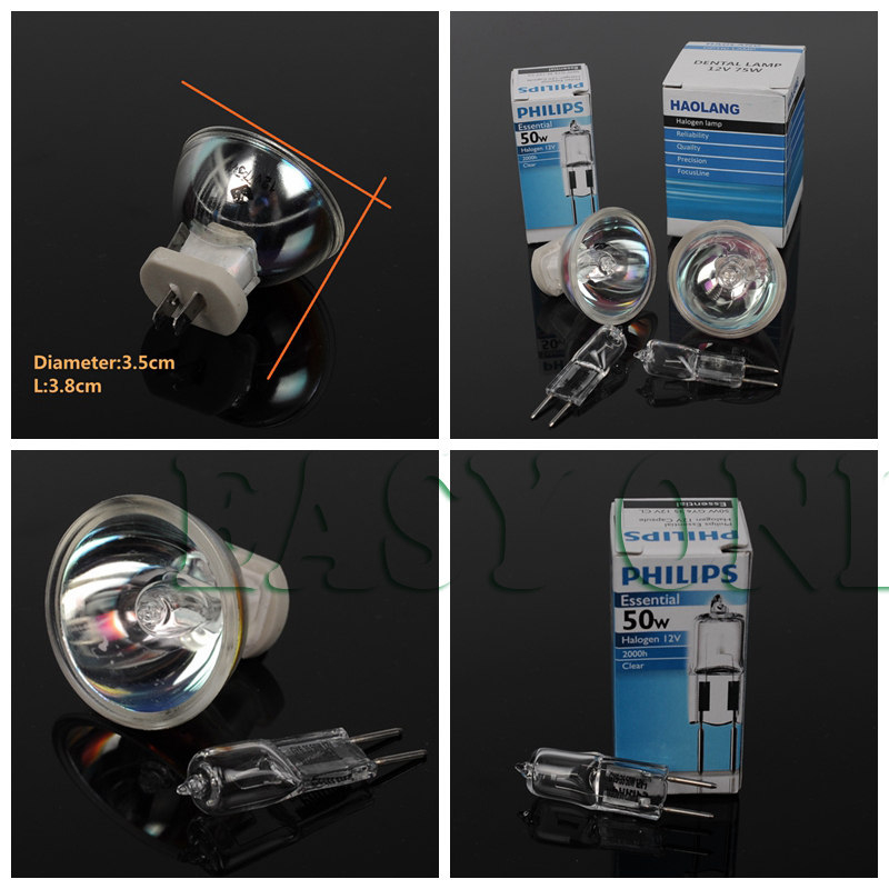 Dental Oral Bulb Light Lamp & Halogen Bulb lamps for Dental Curing Light
