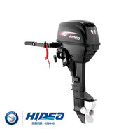 HIDEA Two Stroke Outboards 9.8 Horsepower Boats Outboard Engine Propulsion Machine Inflatable Boat Motor Kayak Electric Motor
