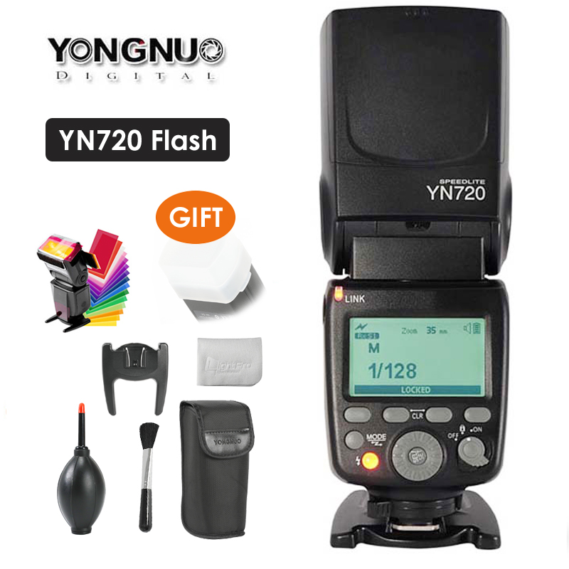2018 Yongnuo Lithium Speedlite YN720 Flash with 2000mAh battery for Canon Nikon Pentax,Compatible YN685 YN560 IV YN560-TX RF6052018 Yongnuo Lithium Speedlite YN720 Flash with 2000mAh battery for Canon Nikon Pentax,Compatible YN685 YN560 IV YN560-TX RF605
