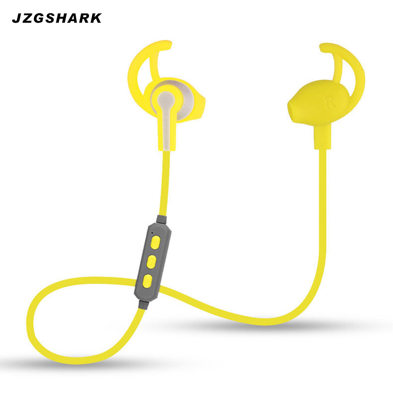 In Ear Bluetooth Headset Wireless Noise Cancelling Stereo Phone Earbuds Sport Running Music Earphone with Microphone for Phones  wireless music bluetooth headset 4 mini head wear sport ear hanging ear type 4 1 universal running stereo can insert card radio