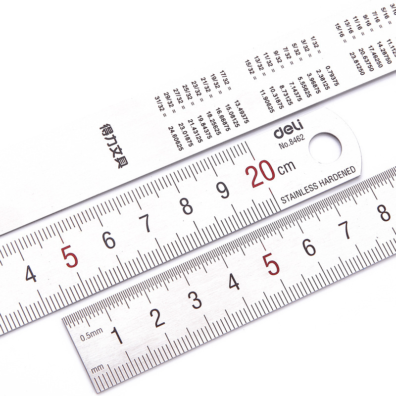 Office & School Supp. ... Drafting Supplies ... 32662821423 ... 2 ... With the scale ruler mapping measurement of office stationery 15cm/20cm/30cm/50cm stainless steel ruler steel cutting ruler ...