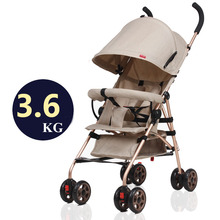 Baby stroller ultra light portable folding cart shock absorbers car umbrella bb baby child small baby