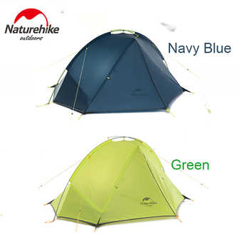 Naturehike Tent 1.4-1.6 Kg Ultralight Tagar Camping Tent 20D Nylon Silicone Outdoor Hiking Tent PU4000mm NH17T140J barraca tenda - DISCOUNT ITEM  30% OFF All Category