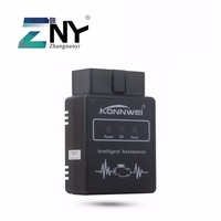 ZNY חיצוני Bluetooth OBD II מתאם כלי אבחון רכב אוטומטי ממשק סורק עם מכשירי אנדרואיד עבור בנזין מנוע רק