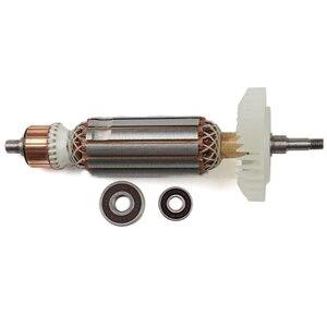 Image 4 - AC220 240V Armatür Elektrikli Açı değirmeni için Rotor stator MAKITA GA5030 GA4530 GA4030 GA5034 GA4534 GA4031 GA4030R GA4034