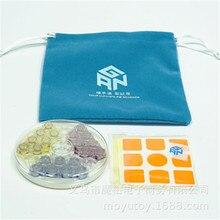 GAN 3x3x3 accesorios para cubo resortes bolsa pegatinas para gan356 air o gan 356 air sm
